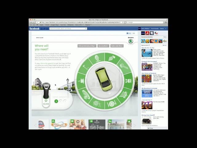 Skoda - Citigo Facebook app