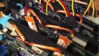 Showing Off 4x5770 Bitcoin Miner