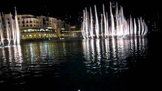 Dubai Fountain - Arabic song (Aug 2010)