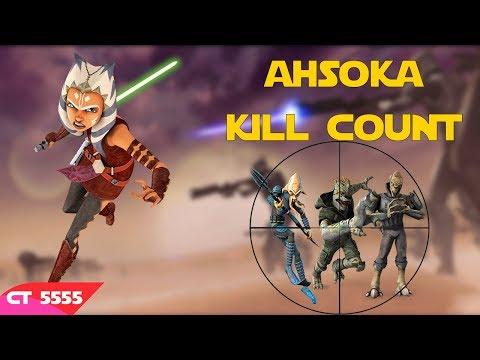 Star Wars Ahsoka Tano Kill Count