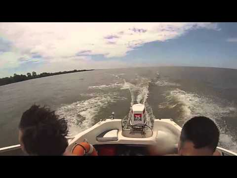 Bahamas Open 440s with johnson stinger 75hp