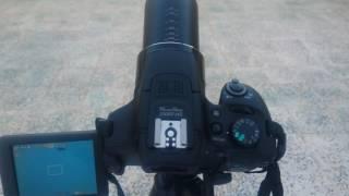 تجربتي للزوم الخارق لكاميرا كانون SX60HS CANON
