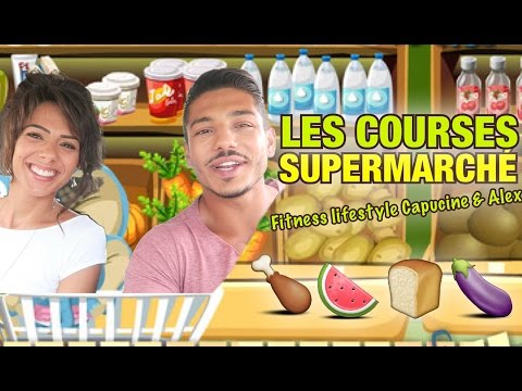 Les COURSES d'un FITNESS COUPLE au SUPERMARCHE by Bodytime