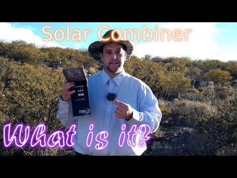 Solar/PV Combiner - What is it? Manifest Power E005