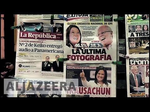 Peru's election: Media, money and manipulation - The Listening Post (Full)