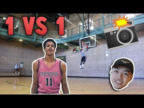 1v1 UNSTOPPABLE FLOATER GAME!! w/ SHAREEF O'NEAL'S PHOTOGRAPHER!