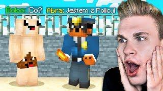 Zostałem POLICJANTEM PRANK na BOBO w Minecraft!