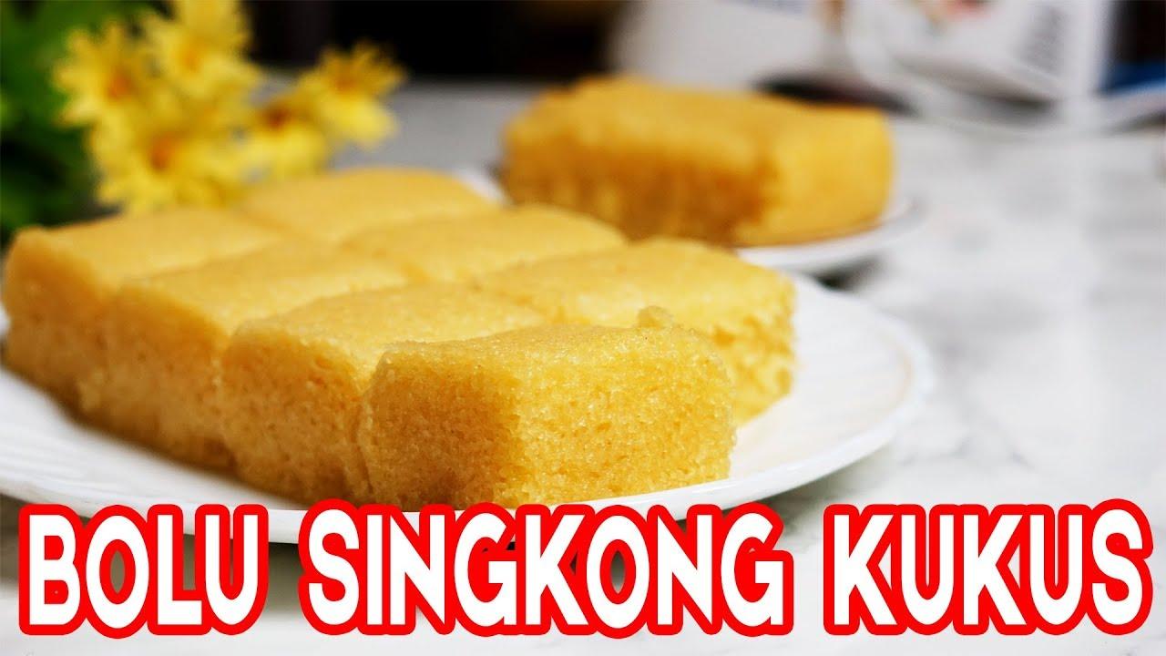 Cara Membuat Kue Bolu Singkong Kukus Tanpa Sp Dan Tepung Terigu