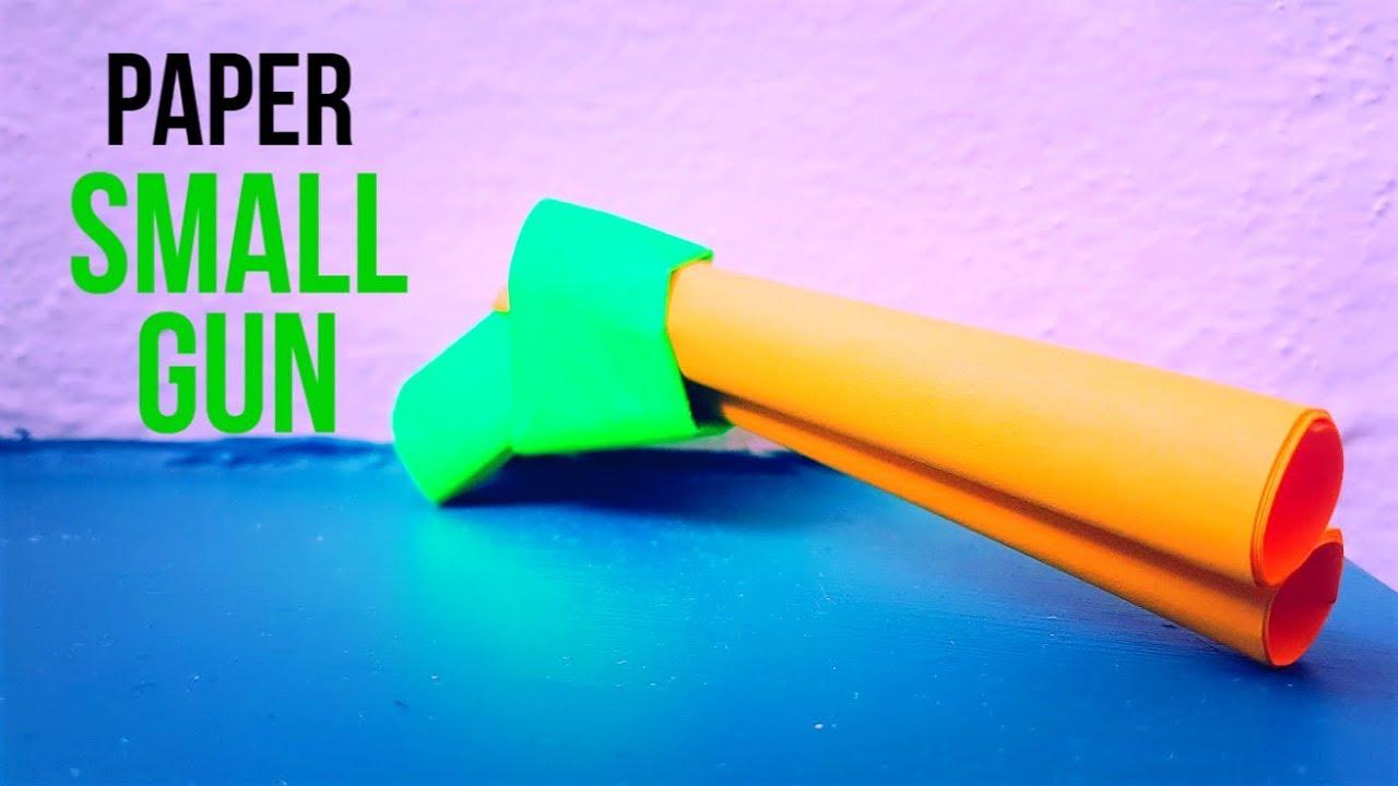 how to basic paper gun