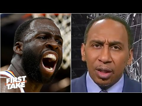 Draymond is going to get the Warriors in trouble - Stephen A. reacts to the ejection | First Take