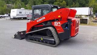 2016 Kubota SVL95 2S track loader