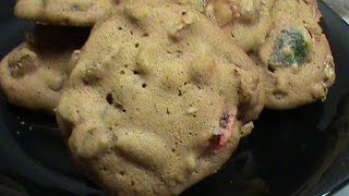 Old Fashion Fruit Cake Cookies