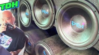 EXTREME CAR AUDIO @ TDH 2015 w/ Big BASS FLEX & Loud Subwoofer Songs / Demo Reactions