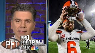 Baker Mayfield leaving interview early not a good look | Pro Football Talk | NBC Sports