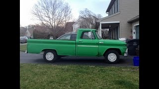 """1965 Chevrolet C20 3/4 Ton """"Project Shop Truck"""""""