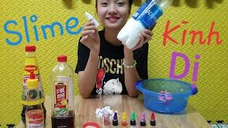 Thử Thách Làm Slime Kinh Dị | Như Quỳnh Kids