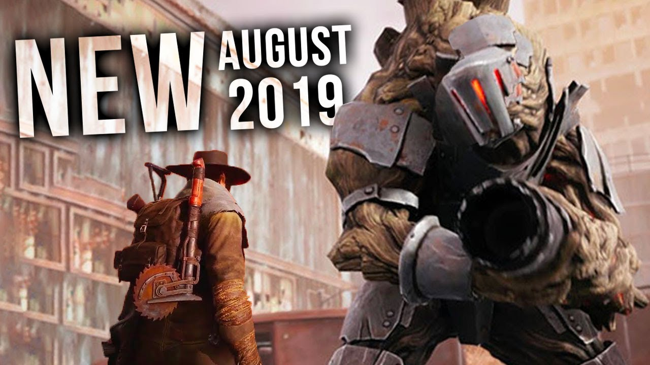 Top 10 New Games Of August 2019 Youtube