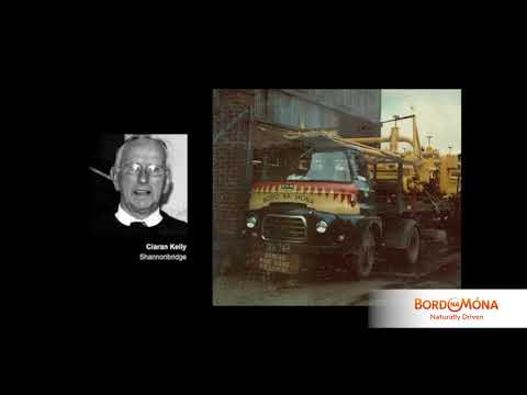 Ciaran Kelly on Transport - Bord na Móna Living History