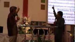 Message of Salvation in Pattaya Church Thailand Part 3