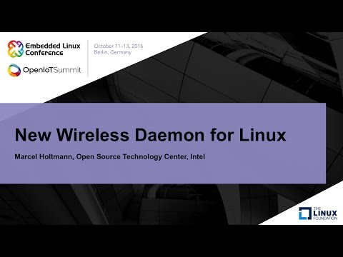 New Wireless Daemon for Linux