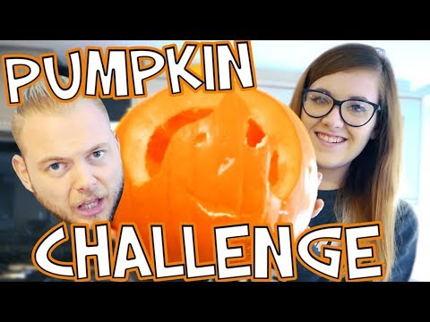 PUMPKIN CARVING CHALLENGE!! SQUIDDY VS NICOLE!!