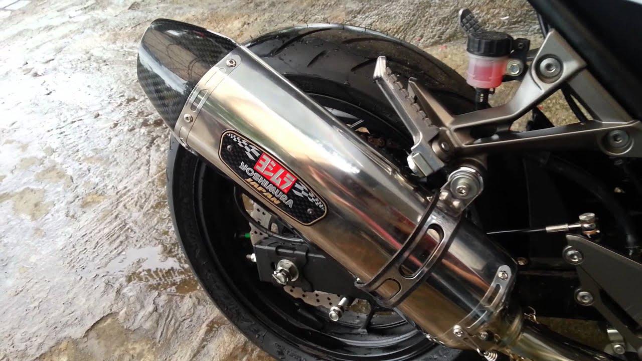 100 Modifikasi Ninja Mono Layz Motor Sobat Knalpot Prospeed Black Series 250 Rr Z250sl Fullsystem Yoshimura R77 Fimp4 Youtube