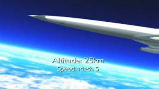Reaction Engines LAPCAT A2 hypersonic airliner
