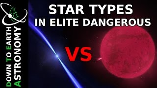 THE STARS OF ELITE DANGEROUS