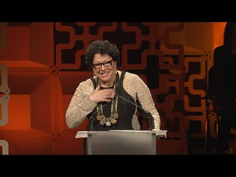 2016 Hispanic Heritage Awards - Justice Sonia Sotomayor