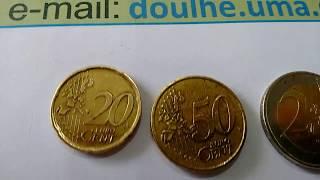 Moeda 20 CENT de EURO Cervantes 1999 para Vender a quem fazer a Melhor Oferta