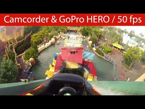 Universal Orlando Resort - Dudley Do Right's Ripsaw Falls - Onride [POV | 50fps]