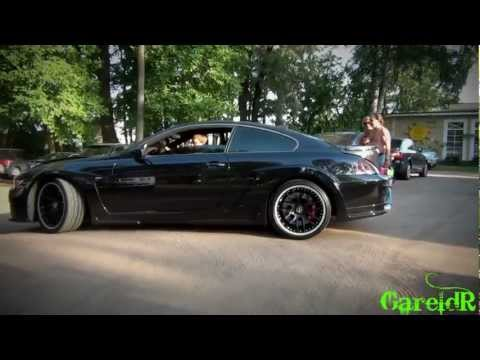 Hamann BMW M6 - POWERSLIDE, Wheelspins, Accelerations In The City - 1080p HD