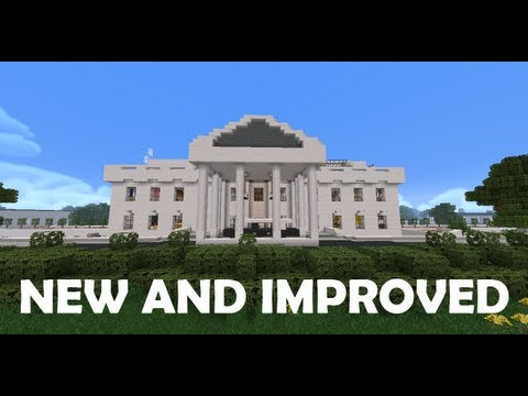 The White House (Fully Furnished) - 100% Remade for Minecraft 1.5.2!