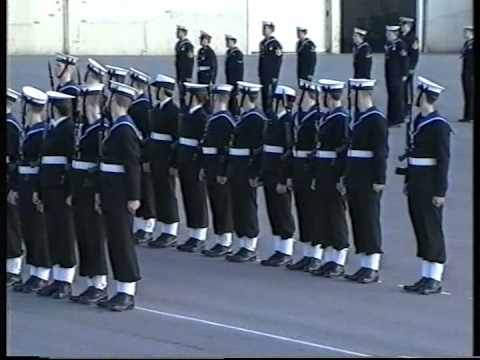 Royal Navy Passing Out Parade