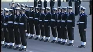 Royal Navy Passing Out Parade