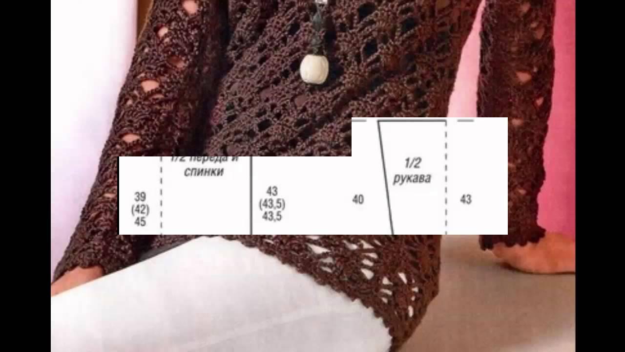 Suéter Calado Café Largo Cerrado a Crochet - YouTube