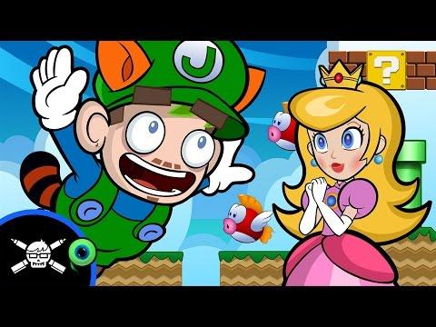 Jack Septiceye Vs. Super Mario Maker