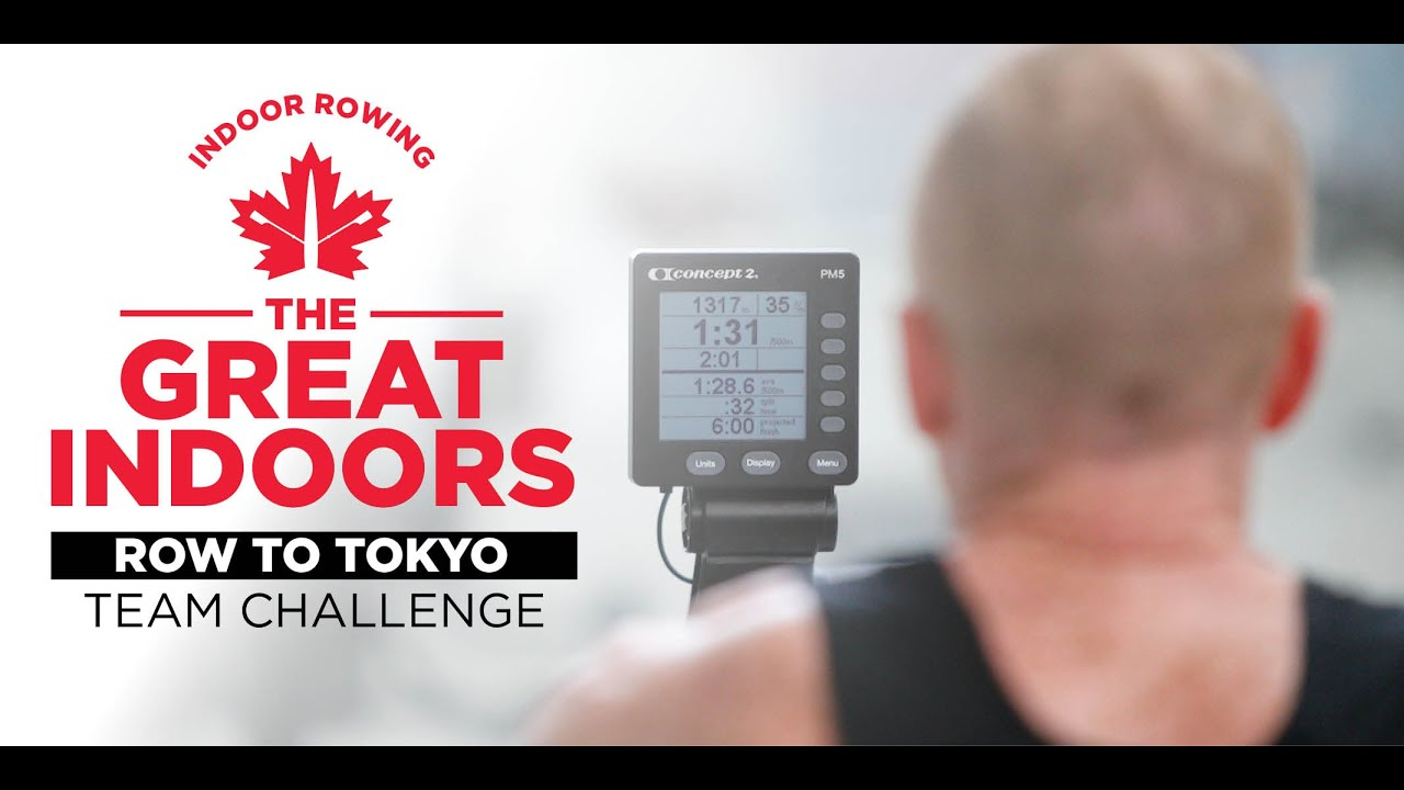 The Great Indoors | Row to Tokyo Team Challenge