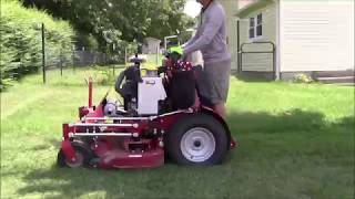 Z3X 52'' Mowing A Thick Centipede Lawn
