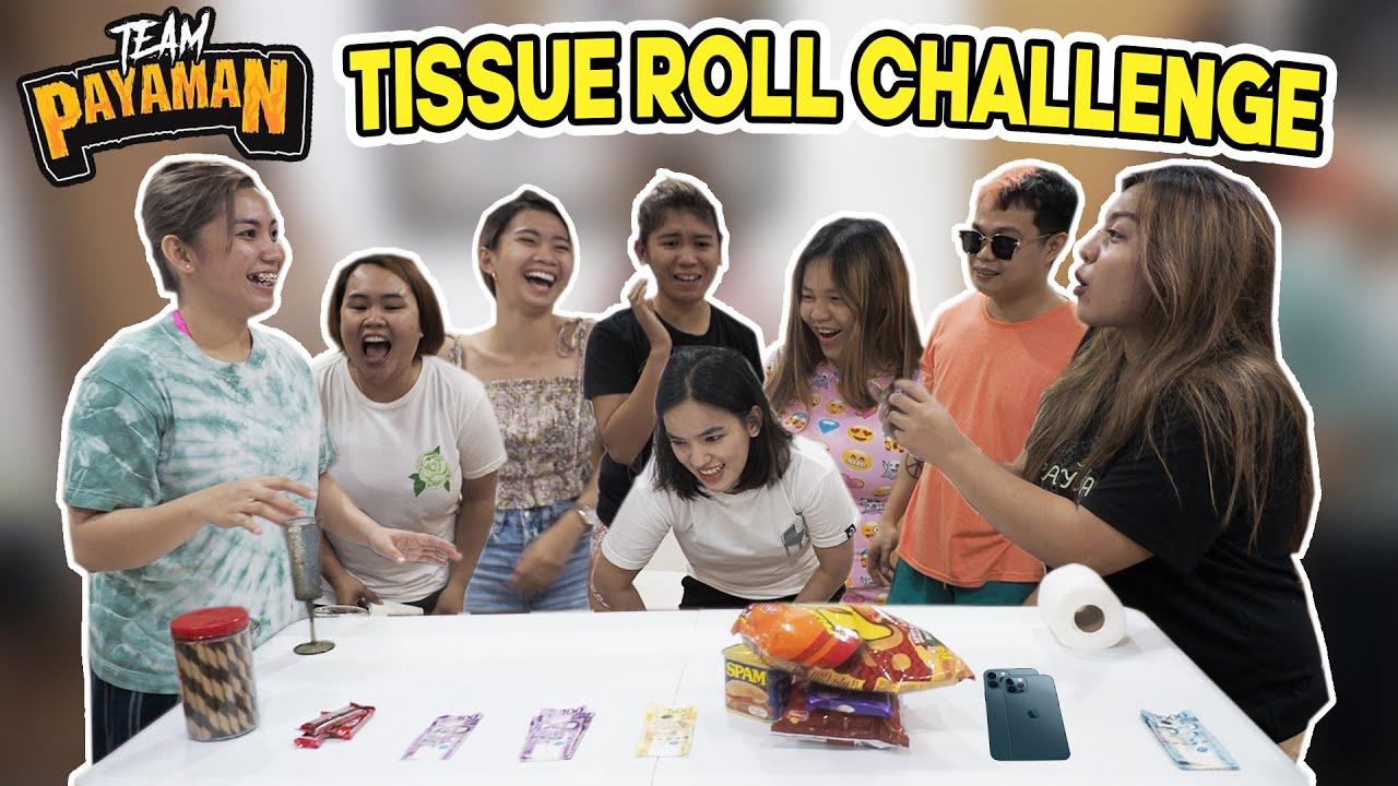 Tissue Roll Challenge + Iphone 12 Pro Max Birthday Surprise