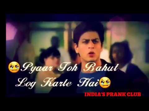 NEW BROKEN HEART 😭😭😭SAD WHATSAPP DIALOGUE STATUS BY SRK