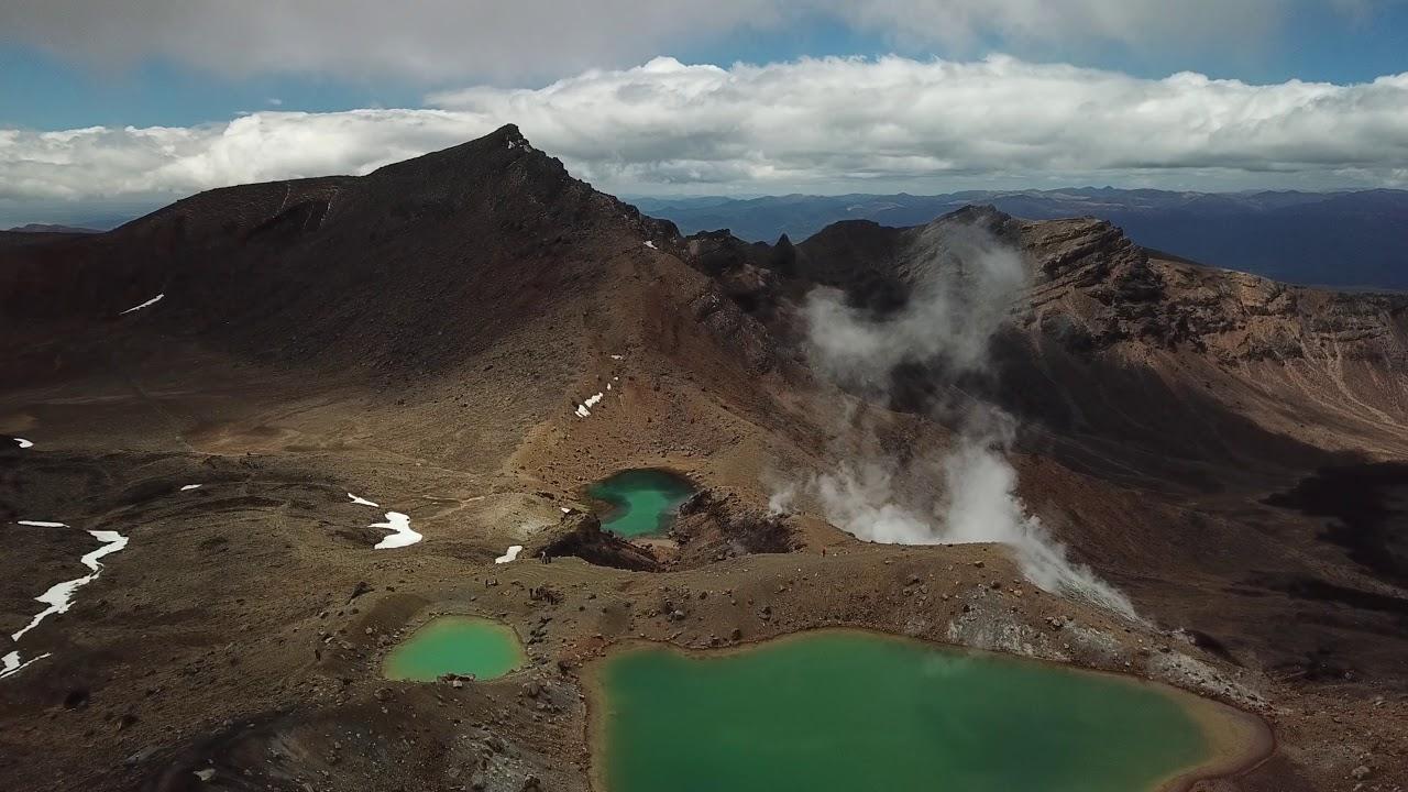 New Zealand from above - Drone Video - 4K (DJI Mavic Pro)
