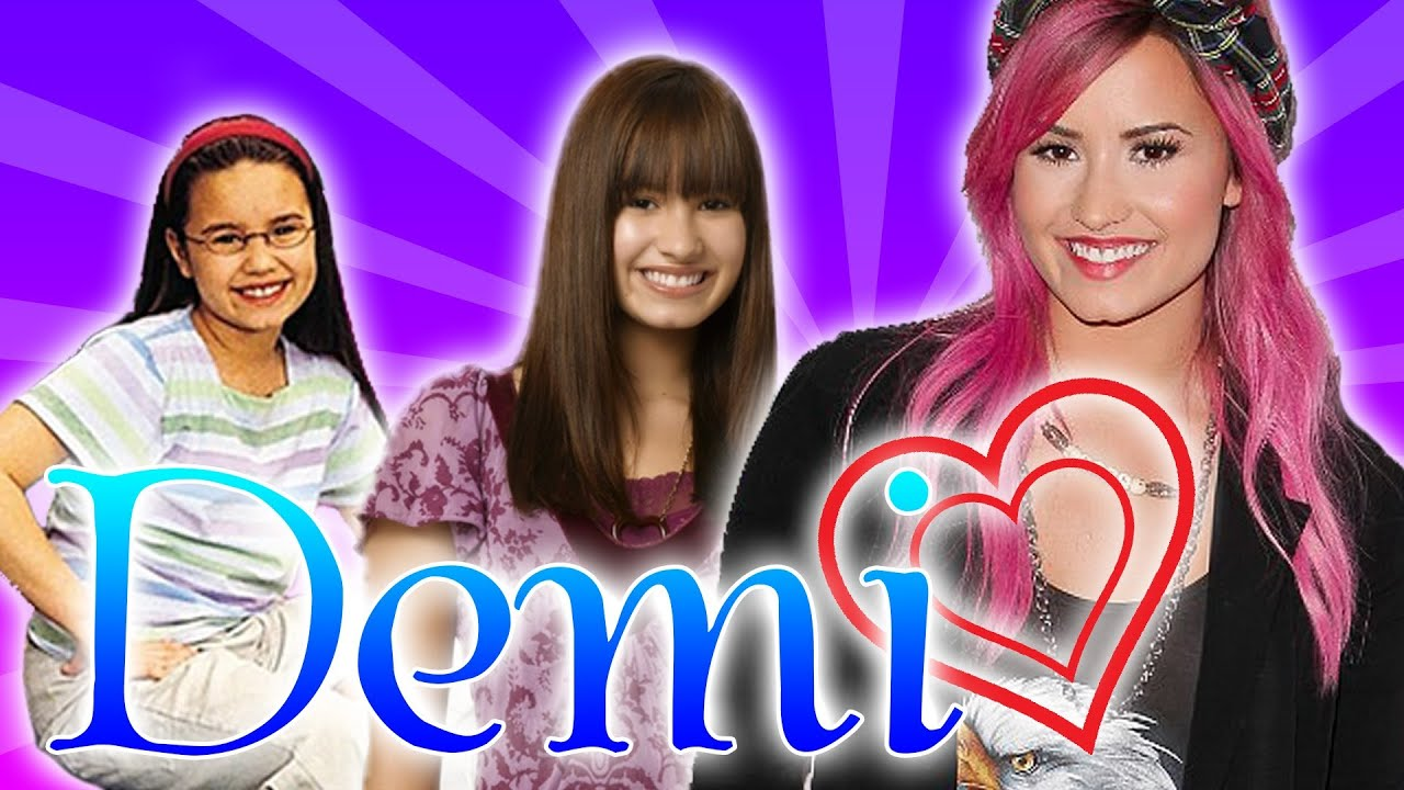 Demi LovatoEAfive From Barney To Really Dont CareEAfive A Demi Bio Youtube