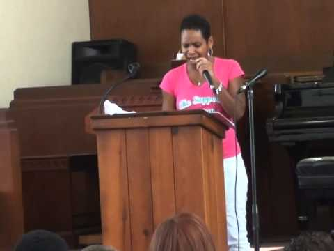 Celebrate Life Cancer Ministry Inspirational Speaker Worship In Pink 2014