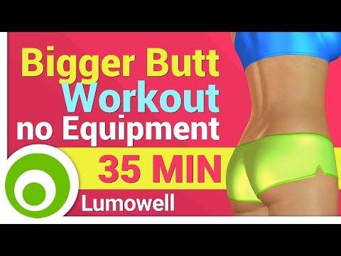 Bigger Butt Workout no Equipment