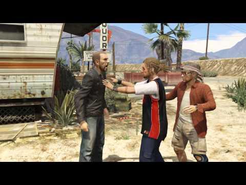 GTA 5 Trevor Funny Scene Take Off Your Pants Cowboy Alright Lets Fuck