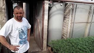 Отопление теплицы Котлом Вихлач 38 кВт отзыв покупателя.  Село Новые Лагеря.