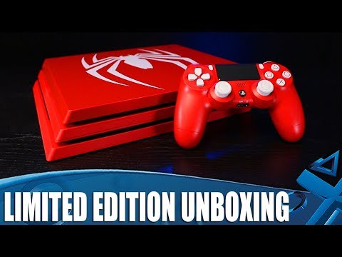 Marvel's Spider-Man - Limited Edition PS4 & PS4 Pro Unboxing