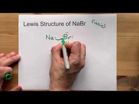Draw The Lewis Structure Of NaBr (sodium Bromide)