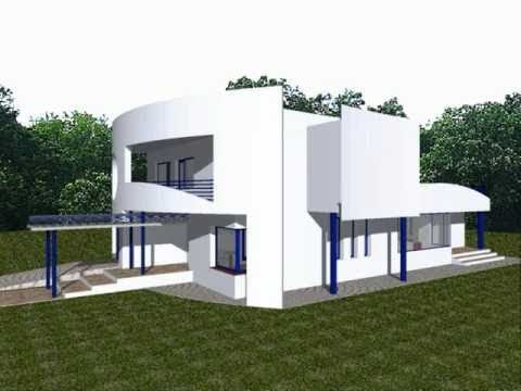 Proiect casa denisa modele case moderne youtube for Case moderne classiche